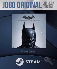 Batman Arkham Origins Original Steam Pc Online Frete Grátis!