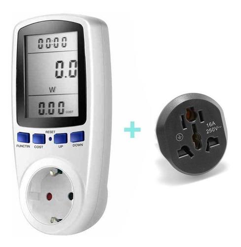 Medidor Energia Electrica Luz Kwh Enchufe Universal
