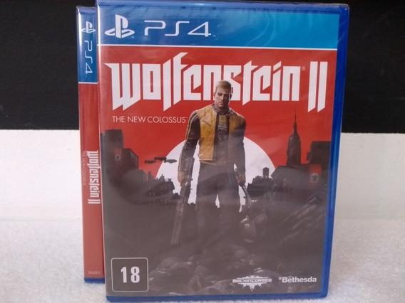 Wolfenstein 2 - Ps4 Mídia Física - Lacrado - Pronta Entrega