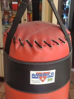 Saco De Pancada - 1m - Vermelho - América