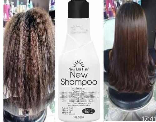 2 Shampoo Alisante Reconstrutor Liso Extremo Frete Gratis