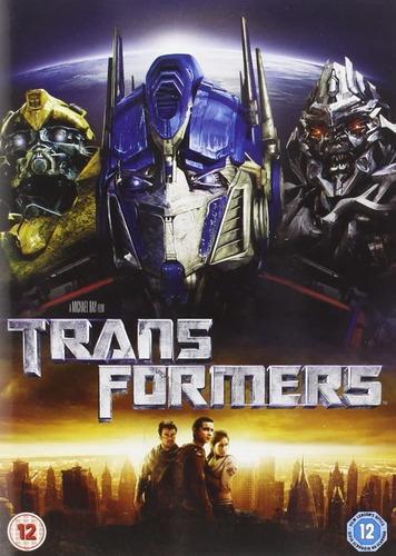 Transformers Dvds Fan Collection (filmes 1, 2,3, 4 E 5)