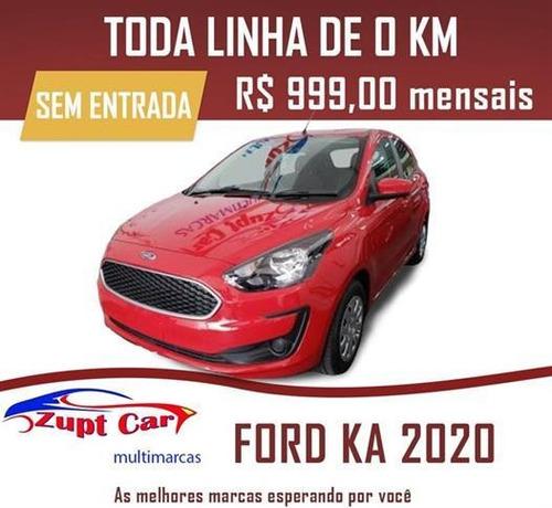 Ford Ka Automatico   Flex Aplicativo Uber / 2020 0km