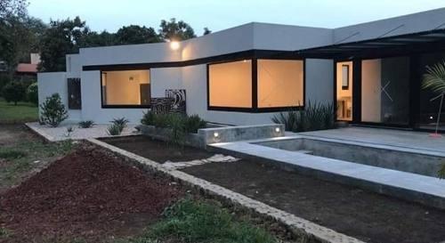 Hermosa Casa Nueva En Renta Anual En Tepoztlán