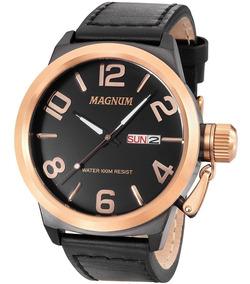 Relógio Magnum Análogo Ma33399u Preto