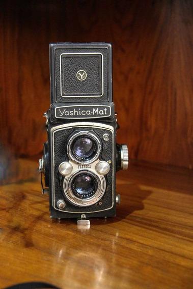 Camera Fotografica Profissioanl Antiga Yashica Mat