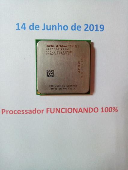 Processador Amd Athlon 64 X2 Socket Am2 Funcionando 100%