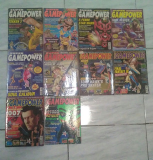 Lote Com 10 Revistas Super Game Power