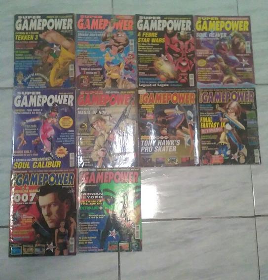 Lote Com 10 Revistas Super Game Power