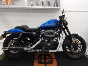 Harley Davidson Xl 1200 Cx Roadster Azul 2018 - Target Race