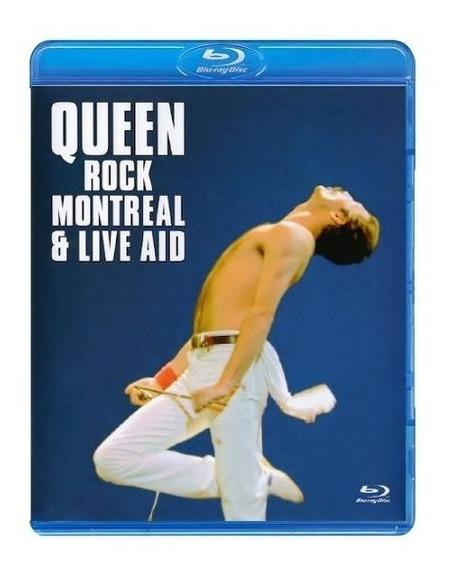 Blu-ray Queen - Rock Montreal & Live Aid (lacrado)