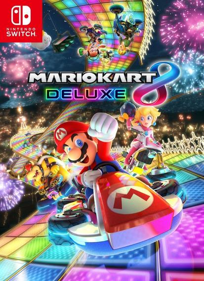 Mario Kart 8 Deluxe - *locação 7 Dias*