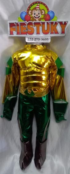 Disfraz Aquaman Talla 6 Metalico