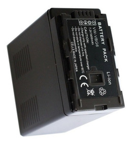 Bateria Vw-vbg6 P/ Panasonic Ag-ac120 Ag-ac130 Ag-ac160 Ac7
