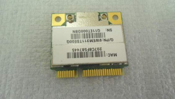 Placa Pci Wireless Anatel Sti Semp Toshiba Is 1422