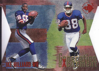 1997 Ud3 Generation Excitement Dc Ike Hilliard Wr Giants