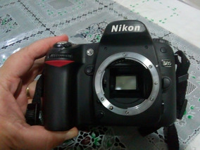 Nikon D80 Usada - Apenas 9500 Cliques - Só Corpo Sem Lente