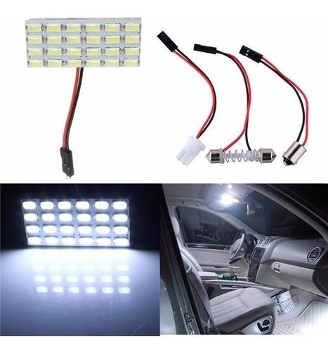 Luces Led Auto 24  Led P/ Techo Auto Interior