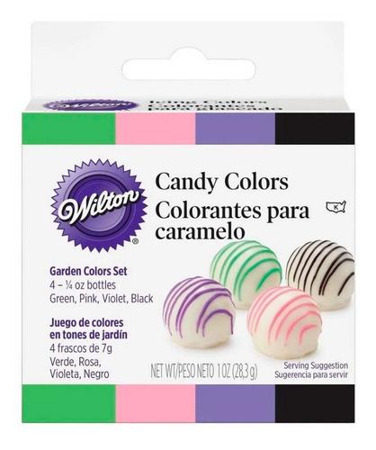 Set De 4 Colorantes Liposolubles Wilton Original - No Full