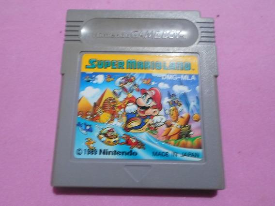 Jogo Super Mario Land Original Para Game Boy Gb Gba