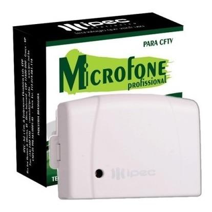 Microfone Amplificado Ipec