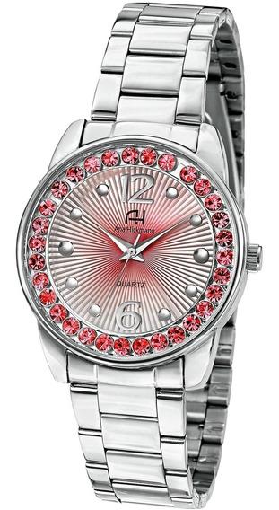 Relógio Feminino Ana Hickmann Ah28875v Barato Original
