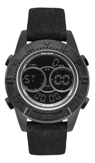 Relógio Mormaii Masculino Acqua Action Preto - Mo150915ah/2p