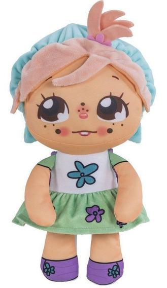 Boneca Ana Flipkins + 1 Cutie Pet - Flipe E Cresça - Dtc