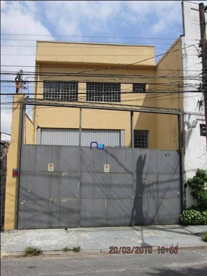Galpão Para Alugar, 430 M² Por R$ 9.000/mês - Vila Anastácio - São Paulo/sp - Ga0728