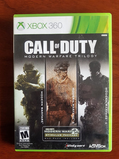 Xbox 360 Call Of Duty Modern Warfare Trilogy Canje