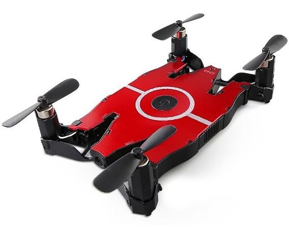 Drone Com Wifi Mini Câmera Hd Auto Dobrável