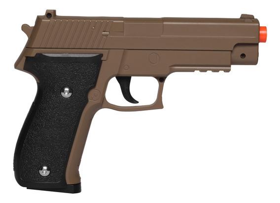 Pistola De Airsoft Spring G26 Sig Sauer P226 G26d Desert