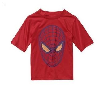 Conjunto Super Héroes - Marvel - Hombre Araña - Malla+remera