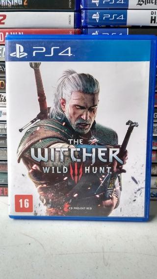 The Witcher 3 Mídia Física Playstation 4