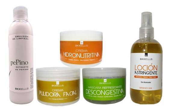 Kit Facial Basico Estudiantes Cosmetología Rostro Biobellus