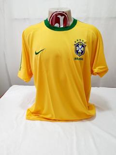 Camisa Seleção Brasileira Brasil Nike 2010 Copa África Sul
