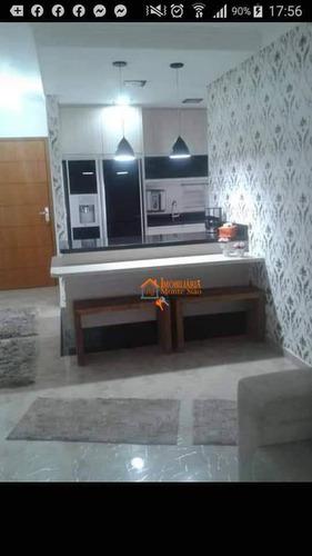 Apartamento Com 3 Dormitórios À Venda, 77 M² Por R$ 570.000,00 - Vila Galvão - Guarulhos/sp - Ap2982
