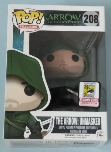 The Arrow: Unmasked. #208. Pop. Comic Con. Nuevo