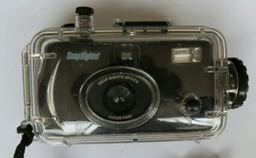 Camera Fotografica Subaquatica Snap Sights Nova Na Embalagem