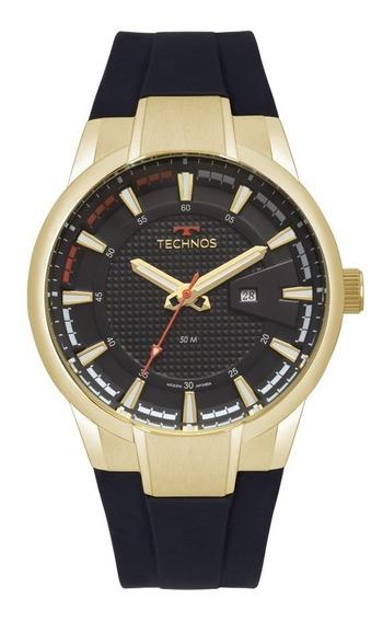Relógio Technos Masculino Racer 2117laz/8p Dourado Analogico