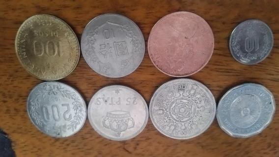 Monedas Antiguas Varios Países(no Seanpajertos,el $ Es C/u!!
