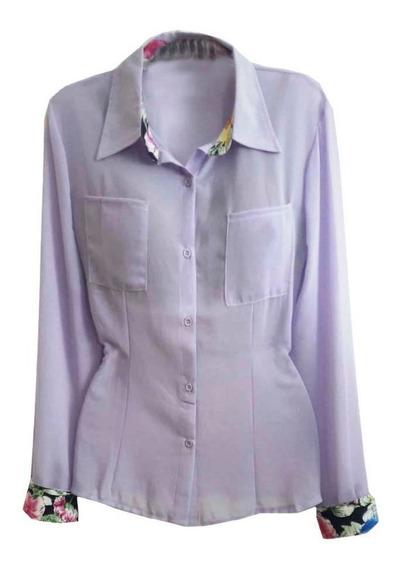 Camisa Feminina Social Blusas Femininas