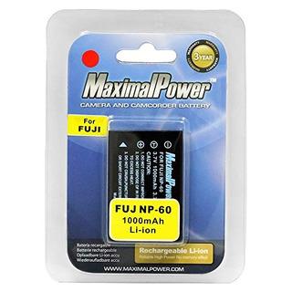 Batería De Repuesto Maximal Power Para Fuji Np-60