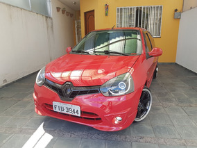 Renault Clio 1.0 16v 2 Portas Vermelho