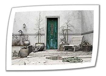 Art Wall Winter Garden 28 Por 40 Pulgadas De Lienzo Sin Envo