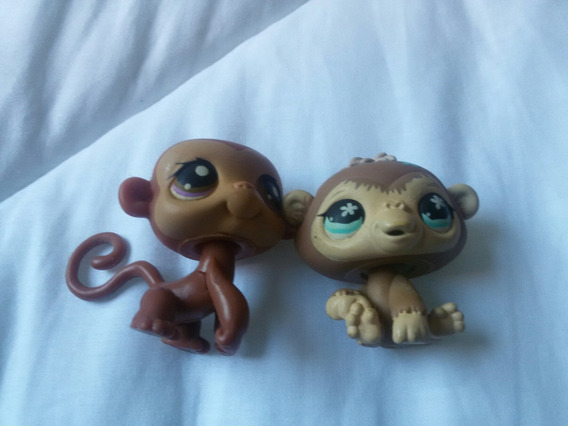 Casal De Macacos Lps Importado Dos Eua