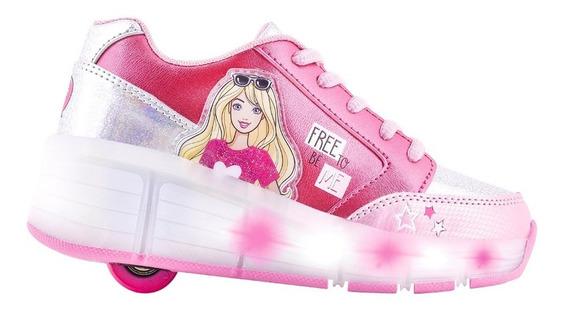 Zapatillas Rueda Barbie By Footy (28-33)- Tienda Footy