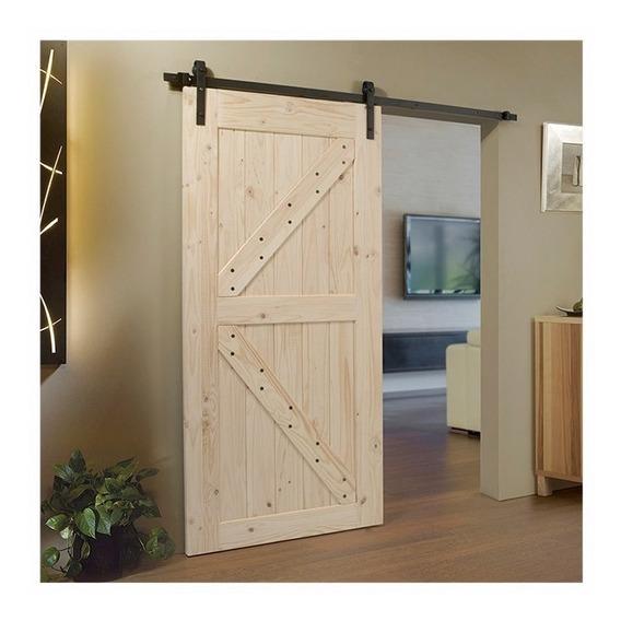 Puerta Barn Door - Establo Granero - Herraje Corrediza Mod1
