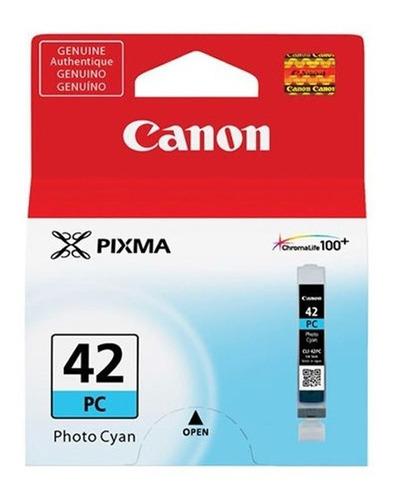 Imagen 1 de 2 de Tinta Canon Cli-42pc Foto Cian Para Pro-100
