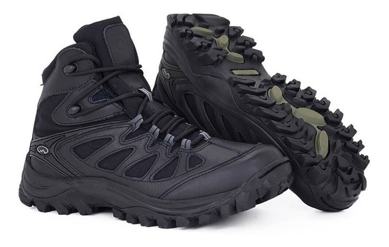 Coturno Bota Tática Militar Airstep 5700 Hiking Boot + Nfs